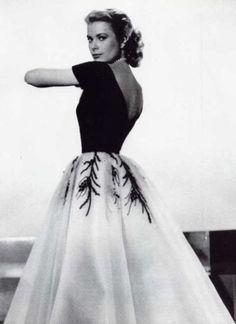 Grace Kelly wearing one of her dresses from Rear Window. Stunning.