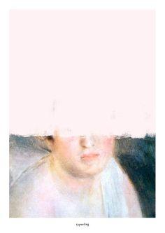 Originaldruck - Kunstdruck Poster / Unfinished Renoir - ein Designerstück von typealive bei DaWanda