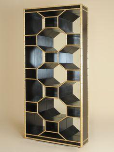 Henredon Furniture - The Revenel Bookcase, from the new Celerie Kemble for Henredon collection. Showroom: 1925 Eastchester Dr. #hpmkt
