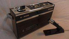 Magnétophone portable à cassette Vintage - Grundig C200 - 1968 - www.remix-numerisation.fr - Numérisation - Transfert - Restauration audio - Cassette audio - Bande magnétique Audio