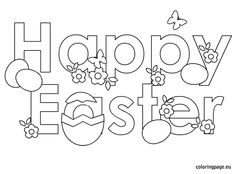 Happy Easter Eggs FreeNFun Easter from Oriental Trading