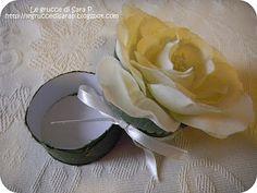 Scatoline con rose delle grucce di Sara P.