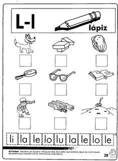 El trompito 1 lecto escritura Enrichment Programs, Pre Kinder, Classroom Language, Preschool Activities, Spanish Activities, Literacy Centers, Speech Therapy, First Grade Worksheets, Speech And Language