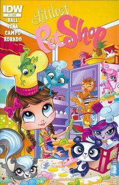 all idw comics books   Littlest Pet Shop (2014 IDW) comic books