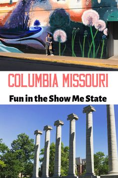 15 Things to Do in Columbia Missouri Now — Thrifty Mommas Tips Alaska Travel, Travel Usa, Visit Columbia, Places To See, Places To Travel, Columbia Missouri, Us Destinations, United States Travel, Travel Guides