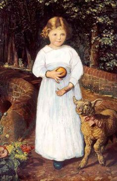 Miss Flamborough by WILLIAM HOLMAN HUNT - Peter Nahum At The Leicester Galleries