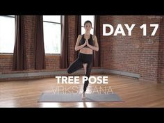 How to do Tree Pose | Yoga Tutorial Day 17 | 30 Poses 30 Days - YouTube