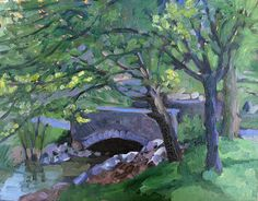 """I really admire plein air painters who never seem to """"flail around""""..."""