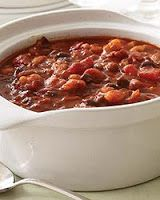 This easy chili can be made Vegetarian or use Ground Turkey for a heartier chili.  This is a family favorite!