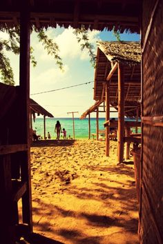 For the Beach Bum Within on We Heart It Bikinis Lindos, Vie Simple, Costa, Grand Tour, Beach Bum, Beach Resorts, Beach Bungalows, Historical Sites, Beautiful Beaches