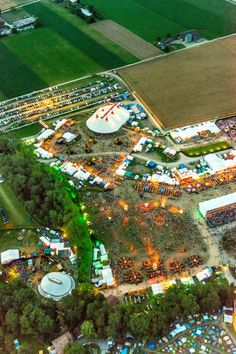 Paleo Festival: Most festivals relegate themselves to weekends, but Swtizerland's Paleo extends the music into a (practically) week long extravaganza of music, partying and the arts.