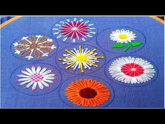 Extraordinary Hand Embroidery flower stitch,Exceptional All over hand Embroidery,हाथ की कढ़ाई 2020 - Free Online Videos Best Movies TV shows - Faceclips Hand Embroidery Flower Designs, Hand Embroidery Videos, Embroidery Stitches Tutorial, Hand Work Embroidery, Hand Embroidery Patterns, Embroidery Techniques, Ribbon Embroidery, Embroidery For Beginners, Embroidered Flowers