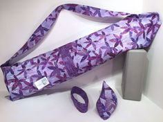 Deluxe Yoga Mat Bag with pocket mat strap & by TwoBossyBritches