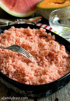Granitas on Pinterest | Watermelon, Italian Ice Recipe and Italian Ice