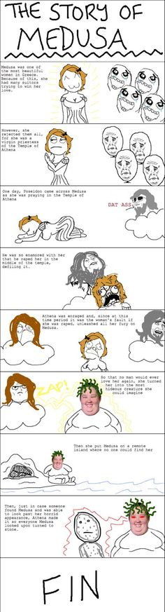 The story of Medusa love, love, love
