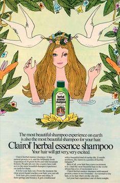 Clairol Herbal Essence shampoo, 1973