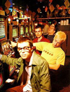 weezer with matt sharp at the slot machines