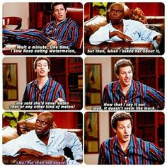 """""""No, put it on the board!""""—Brooklyn Nine-Nine Brooklyn Nine Nine Funny, Brooklyn 9 9, Funny Quotes, Funny Memes, Hilarious, Tv Memes, Jake Peralta, Tv Shows Funny, Parks N Rec"""