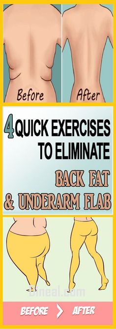 4 QUICK EXERCISES TO GET RID OF UNDERARM FLAB AND BACK BULGE IN LESS THAN 2 WEEKS http://polr.me/1jiw