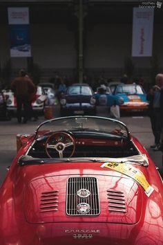 Porsche 1600 super   via - Mathieu Bonnavie