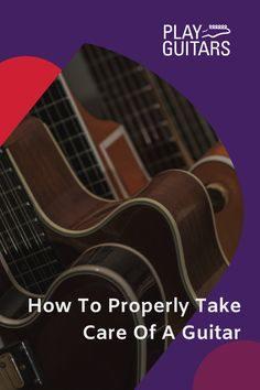 Your guitar playing passion means you should take good care of your guitar. Learn more about how to properly take care of a guitar here. Play Guitar Chords, Learn Bass Guitar, Guitar Sheet Music, Learn To Play Guitar, Acoustic Guitar, Custom Bass, Guitar Notes, Guitar Store, Guitar Lessons For Beginners