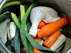 Solidna podstawa zup i sosów - bulion doskonały ! Carrots, Vegetables, Food, Essen, Carrot, Vegetable Recipes, Meals, Yemek, Veggies