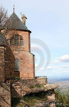 couvent du Mont St Odile, patronne de l'alsace