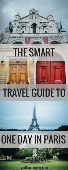 One day in Paris, France is your guide to experiencing the best 24 hours in Paris. With this smart, sensible, slow travel guide mixed with top attractions and off beat things to do, you will have a memorable experience in Paris, guaranteed! #paris #france #europe #travel #eiffeltower