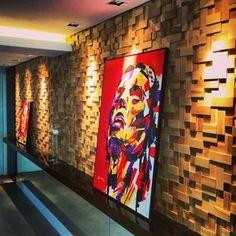 O mimo da semana fica por conta dos trabalhos incríveis do catarinense Julian Gallasch. Arte nas paredes, seja em quadro ou paredes, deixando sua casa ainda mais única e pessoal.