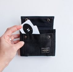 Yoshida Porter wallet with change purse and a million pockets for everything