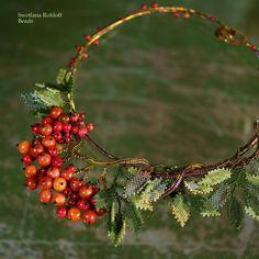 #swetlanarohloff #beadingtutorials #beadwork #beadDesign #tutorial #beading #artbeading Beading Techniques, Diy Kits, Bead Art, Bead Weaving, Jewelry Necklaces, Jewellery, Form, Autumnal, Beads
