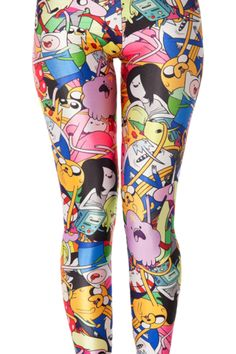 Adventure Time Leggings! This is a whole new Adventure Time line!