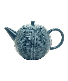 Another great find on #zulily! Blue Teapot #zulilyfinds