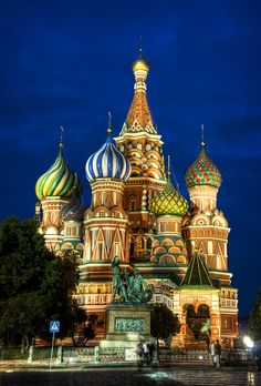 Red Square, Moscow (St. Basil's Cathedral)