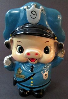 Hey, I found this really awesome Etsy listing at https://www.etsy.com/listing/281744552/1960s-ceramic-policeman-cop-pig-bank