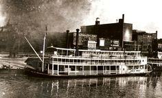 During her first lifetime the Belle of Louisville was actually named the Steamer Idlewild. From 1914-1948 she was used as a ferry and packet boat to ship goods on the river.