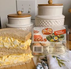 This. Looks. Deliciousssss! Our friend made the PERFECT egg salad sandwich using #GreatDayFarms Eggs!