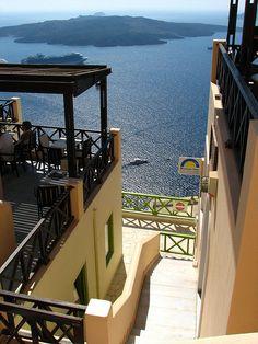 honeymoon in Santorini Greek Isles, Marina Bay Sands, Islands, Landscape, World, Building, Places, Outdoor Decor, Honeymoons