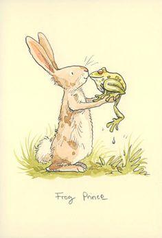 Anita Jeram Rabbit and Frog