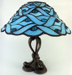 stock.xchng - Blue Tiffany Lamp (stock photo by DontBblu) [id: 584378]