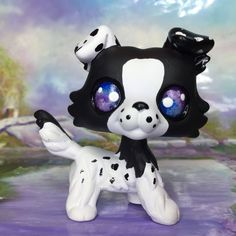This is cute Lps Dog, Lps Pets, Little Pet Shop, Little Pets, Lps Baby, Lps Drawings, Lps Collies, Custom Lps, Lps Accessories
