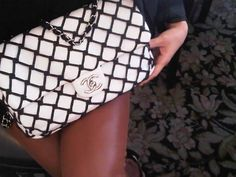Chanel Handbags, Black and White... goes with everything.