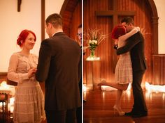 this man surprised his fiancee with a surprise wedding, talk about the perfect simple solution to wanting to elope and have something precious captured forever..read their story!