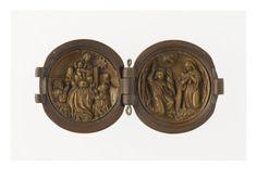 Grain de chapelet: l'Adoration des Mages et l'Annonciation - Musée national de la Renaissance (Ecouen)