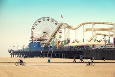 Santa Monica Pier - one of the best tourist spots in LA and a not-to-miss one this summer!