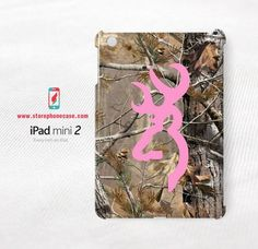 realtree camo Pink iPad Mini 2 Cover Case