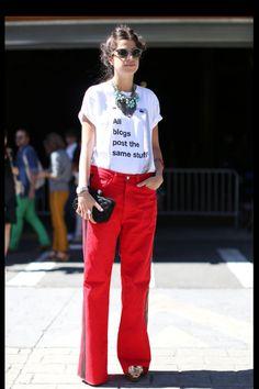 Leandra Medine / Man Repeller / Street Style