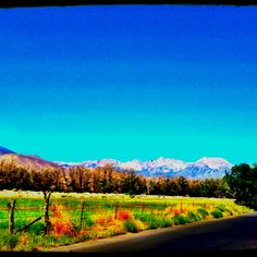 Bishop, Ca; one of my favorite places ever!