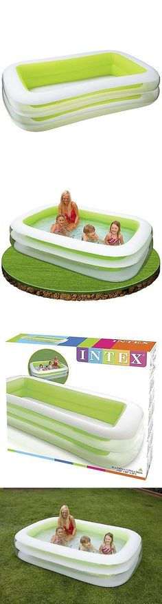 Inflatable and Kid Pools 116407: Intex Swimming Center Family Pool Inflatible Blow Up Large Float Backyard Fun -> BUY IT NOW ONLY: $35.28 on eBay!
