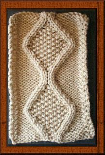 Knitting Patterns for the beginner or the advanced knitter: Knit Cable - Trace Cable knit Stitch Pattern